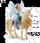 Schleich Bayala 42508 Eyela rinding on golden unicorn