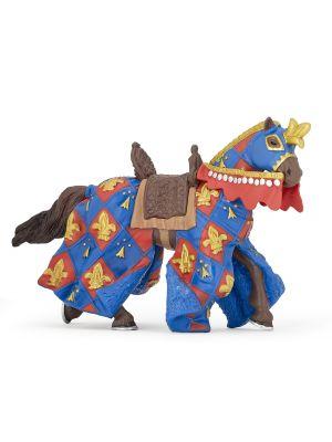 Papo History Blauw Paard Fleur De Lys 39787