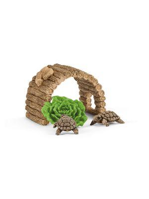 Schleich Wild Life 42506 Tortoise Home
