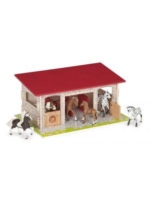 Papo Horses Paardenstal 60104 exclusief dieren
