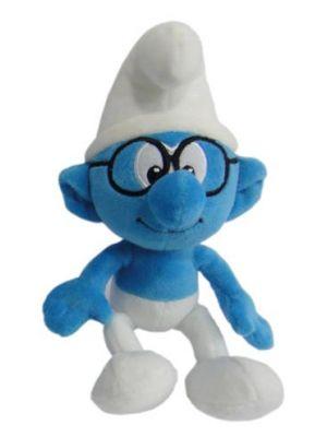 Pluche Bril Smurf 20 cm