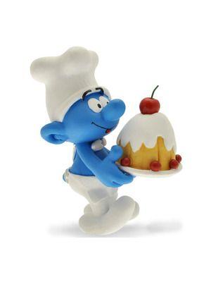 Plastoy kok Smurf 12 cm