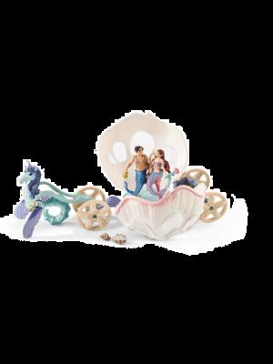 Schleich 41460 Bayala Royal seashell carriage