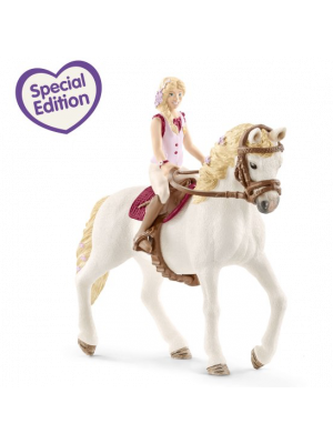 Schleich 42412 Horse Club girl 2 & Andalusian Mare