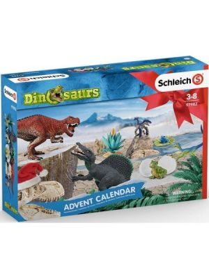 Schleich 97982 Advent Calendar Dinosaur 2019 with 24 Windows