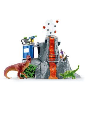 Schleich Dinosaurus 42564 Vulkaan expeditie basiskamp