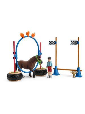 Schleich Farm World Pony Behendigheid Wedstrijd 42482