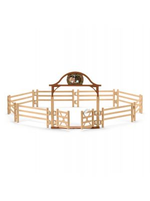 Schleich 42434 Paddock with entry gate / Horse club
