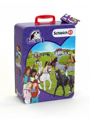 Schleich Horse Club collecting case Space for ten horses