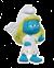 Schleich 20794 Guardian angel Smurfette