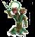 Schleich Eldardor 42513 Plant monster with weapon