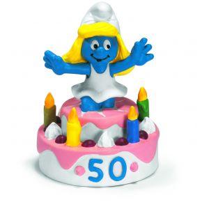 Schleich 20704 Smurfin op de surprise taart