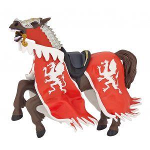 Papo History Rode Drakenkoning Paard 39388