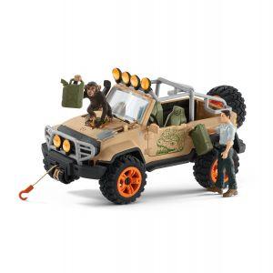 Schleich Wild Life 42410 4 x 4 Vehicle with winch