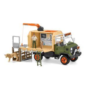 Schleich Wild Life 42475 Big truck animal rescue