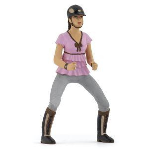 Papo Horse Trendy Rider Girl Pink 52006