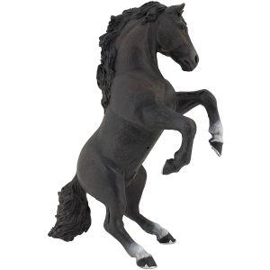 Papo Horses Zwart Steigerend Paard 51522