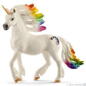 Schleich 70523 Bayala Rainbow unicorn, foal
