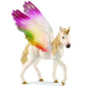 Schleich 70577 Bayala Winket rainbow unicorn foal