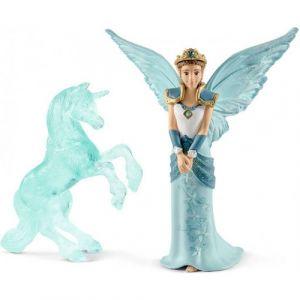 Schleich Bayala 70587 MOVIE Eyela with unicorn-ice-sculpture