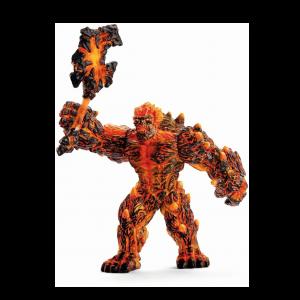 Schleich Eldrador 42447 Lava Golem with weapon