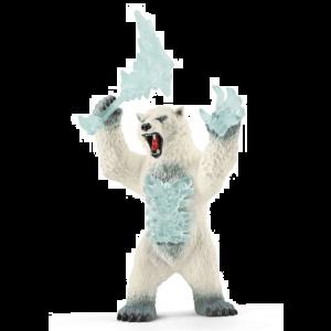 Schleich Eldrador 42510  Blizzard bear with weapon