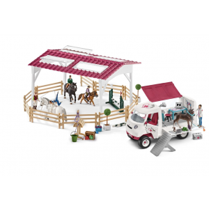 Schleich Horse Club 72121 Mobile Veterinarian at the riding school