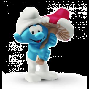 Schleich Smurfs 20819 Smurfs with good luck charm