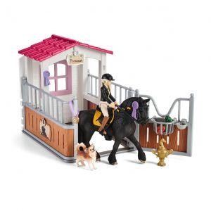 Schleich 42437 Horse stall with Horse club Tori & Princess