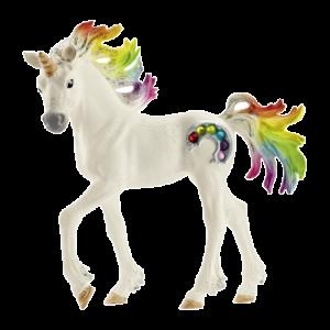 Schleich 70525 Bayala Rainbow Unicorn Foal