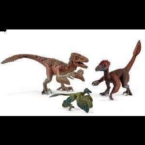Schleich 42347 Dinosaurs Feathered raptors