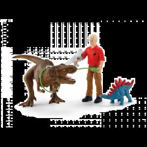 Schleich Dinosaurus 41465 Tyrannosaurus Rex-attack