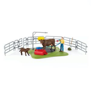 Schleich Farm World Koe Wasstation 42529