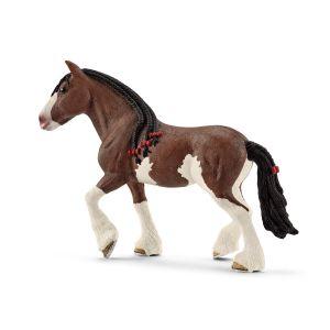Schleich 13809 horse Clydesdale mare