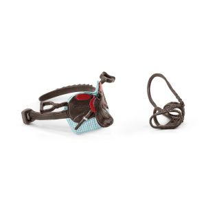 Schleich 42489 Selle & bridle Horse Club Hannah & Cayenne