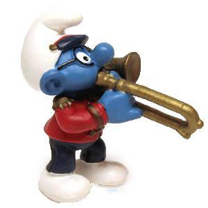 Schleich 20484 Trobone Bril Smurf