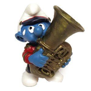 Schleich 20488 Tuba Smurf